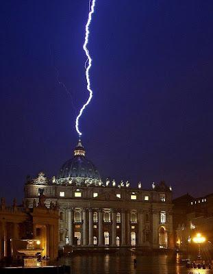 Lightning Strikes Rome