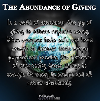 The Abundance of Giving