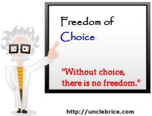 freedom-of-choice
