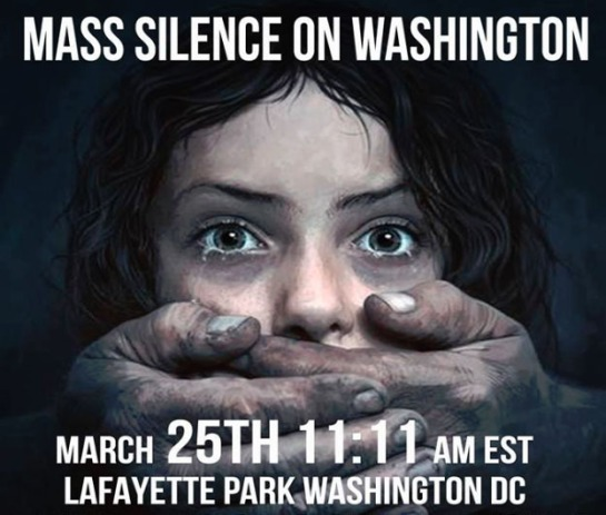 Mass Silence on Washington 2