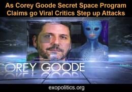 As Corey Goode Secret Space Program Claims go Viral Critics Step upAttacks