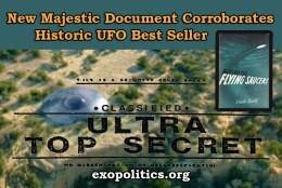 New Majestic Document Corroborates Historic UFO BestSeller