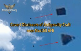 Covert Disclosure of Antigravity Craft near MacDillAFB