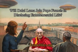 Will Dalai Lama Join Pope Francis in Disclosing Extraterrestrial Life?
