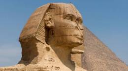 Near Perfectly Preserved Sphinx Discovered During Temple Restoration inEgypt