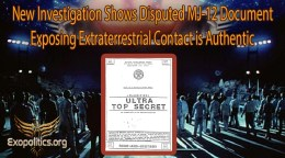 New Investigation Shows Disputed MJ-12 Document Exposing Extraterrestrial Contact is Authentic