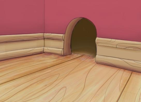 Mouse door