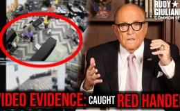 VIDEO EVIDENCE: Caught Red Handed, TRUMP WON Georgia   Rudy Giuliani   Ep.92